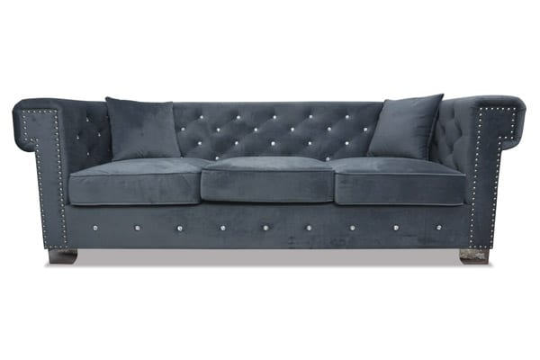 Maysville Sofa In Gray Furniture Mecca